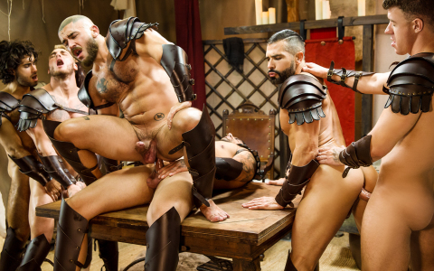 """Sacred Band Of Thebes"" Wraps with a Six-Man Orgy"