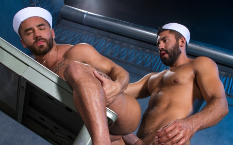 Bruno Bernal Fucks Gabriel Taurus In Doggystyle