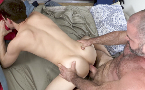 Guy Plays Hooky From School & Gets Ass Pounding from His Stepfather