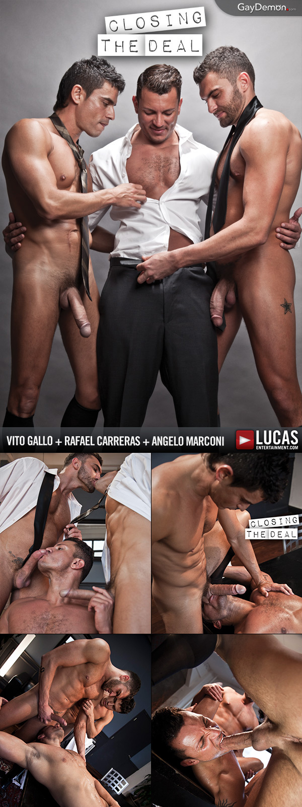 Angelo Marconi Bottoms for 2 Big Dicks