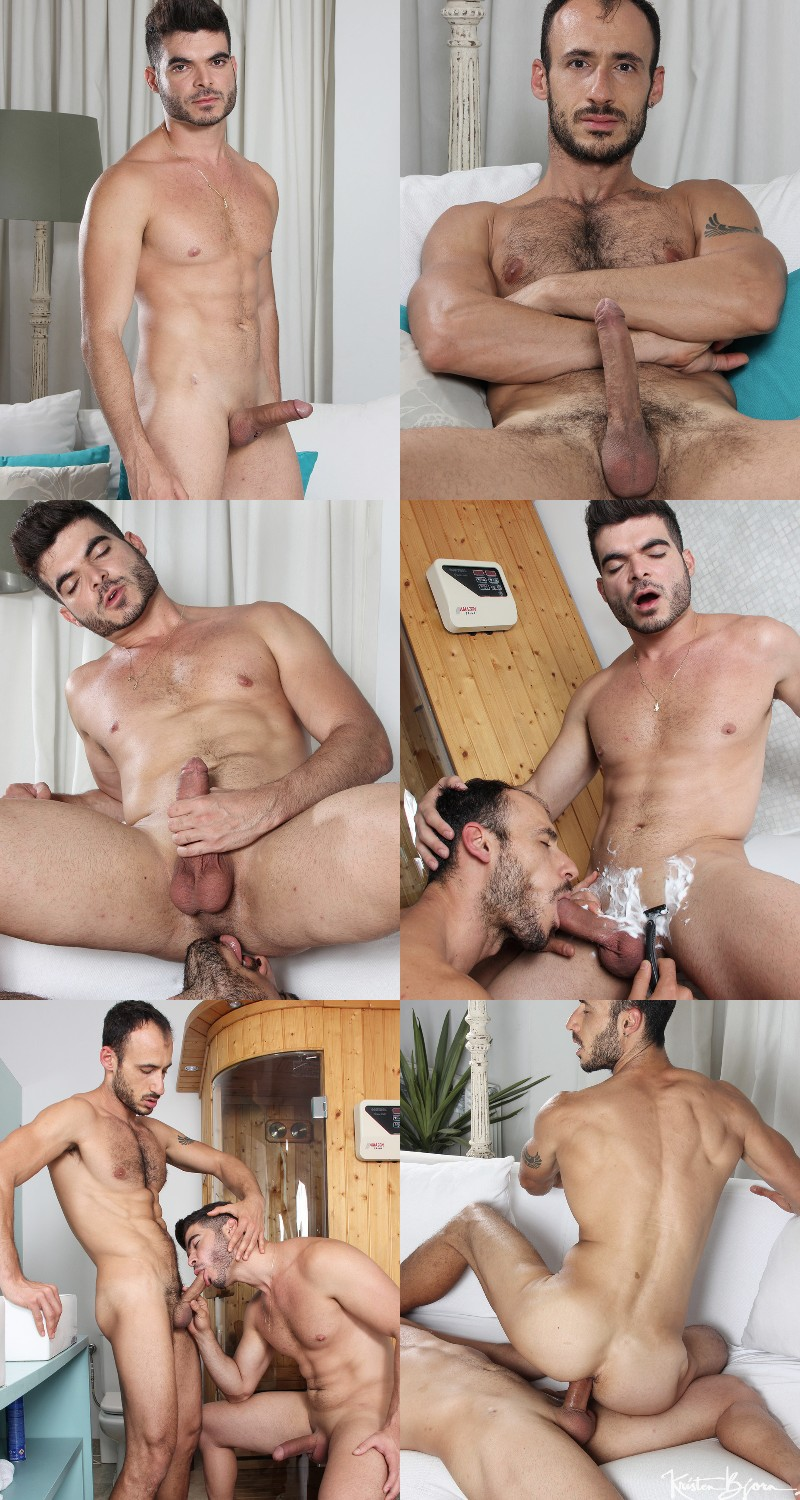 Ely Chaim Shaves Tonny's Scott Pubes & Blows Him At The Same Time