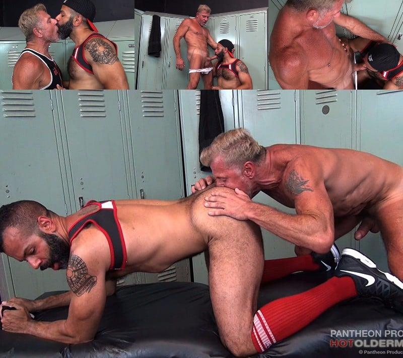 Daddies Fuck in the Locker Room