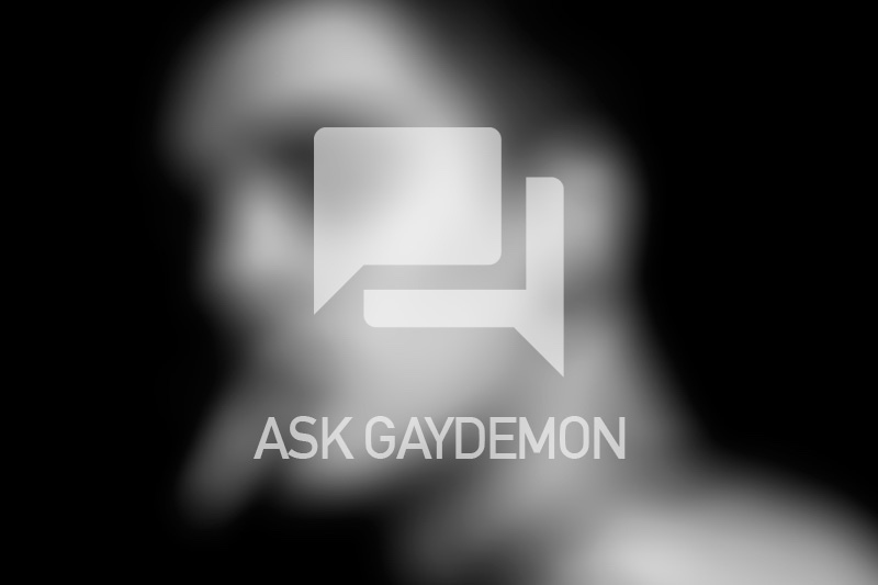 Ask GayDemon: In Love with a Bad Boy