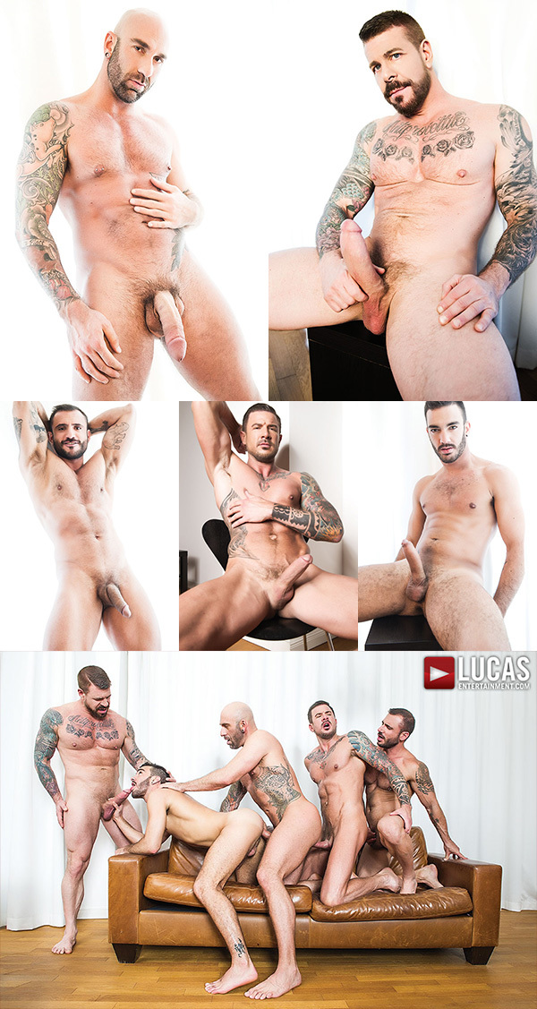Rocco Steele's 5-Man Gang Bang