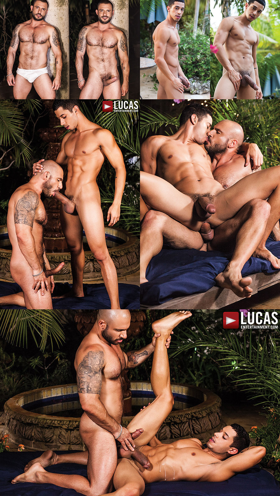 Drae Axtell Debuts His Huge Cock