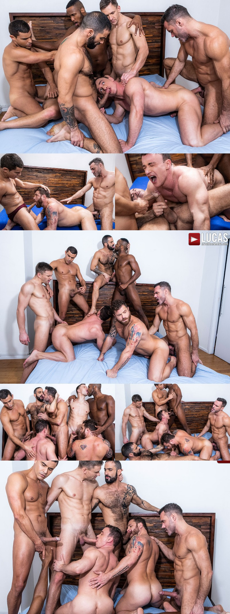 """""""Ganged, Banged & Pounded"""" Opens at Lucas Entertainment"""