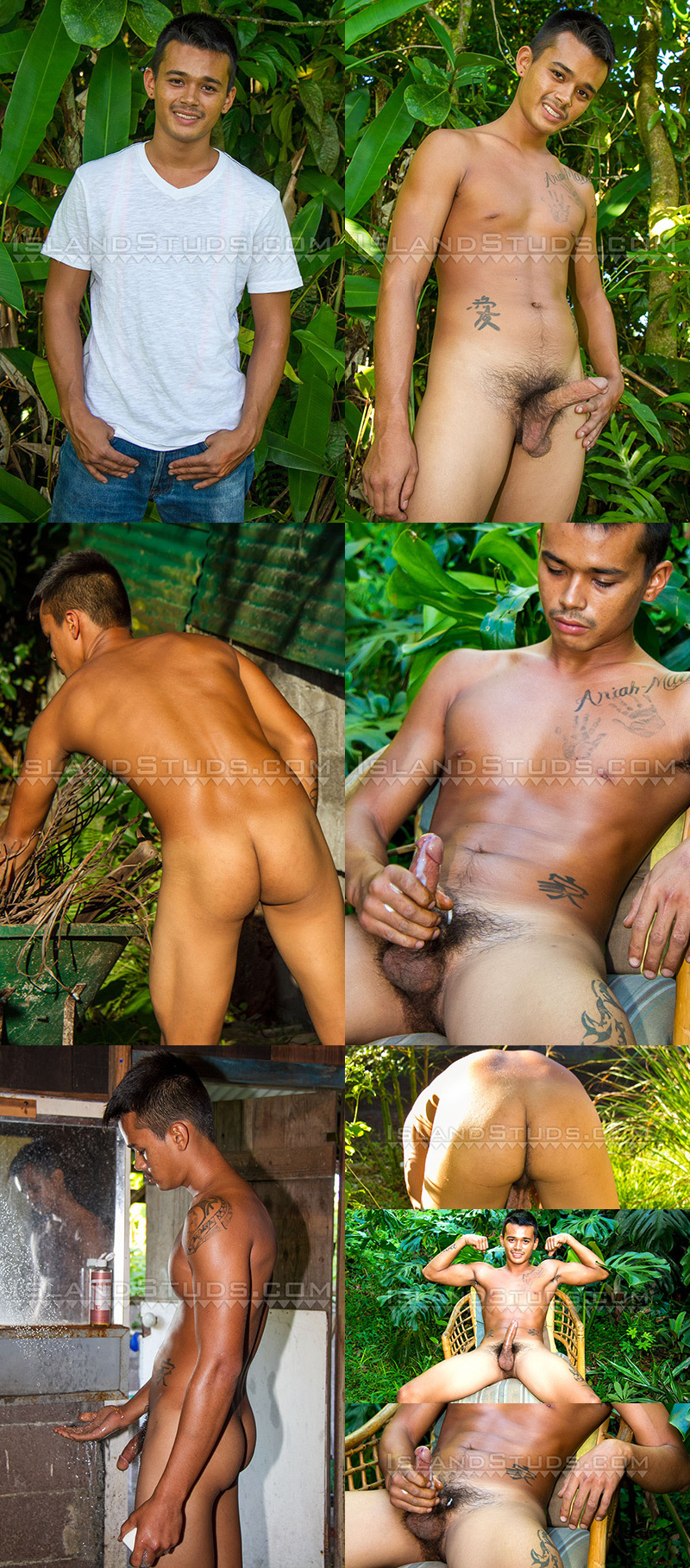 Filipino Nudist Twink High-school Wrestler Akoni