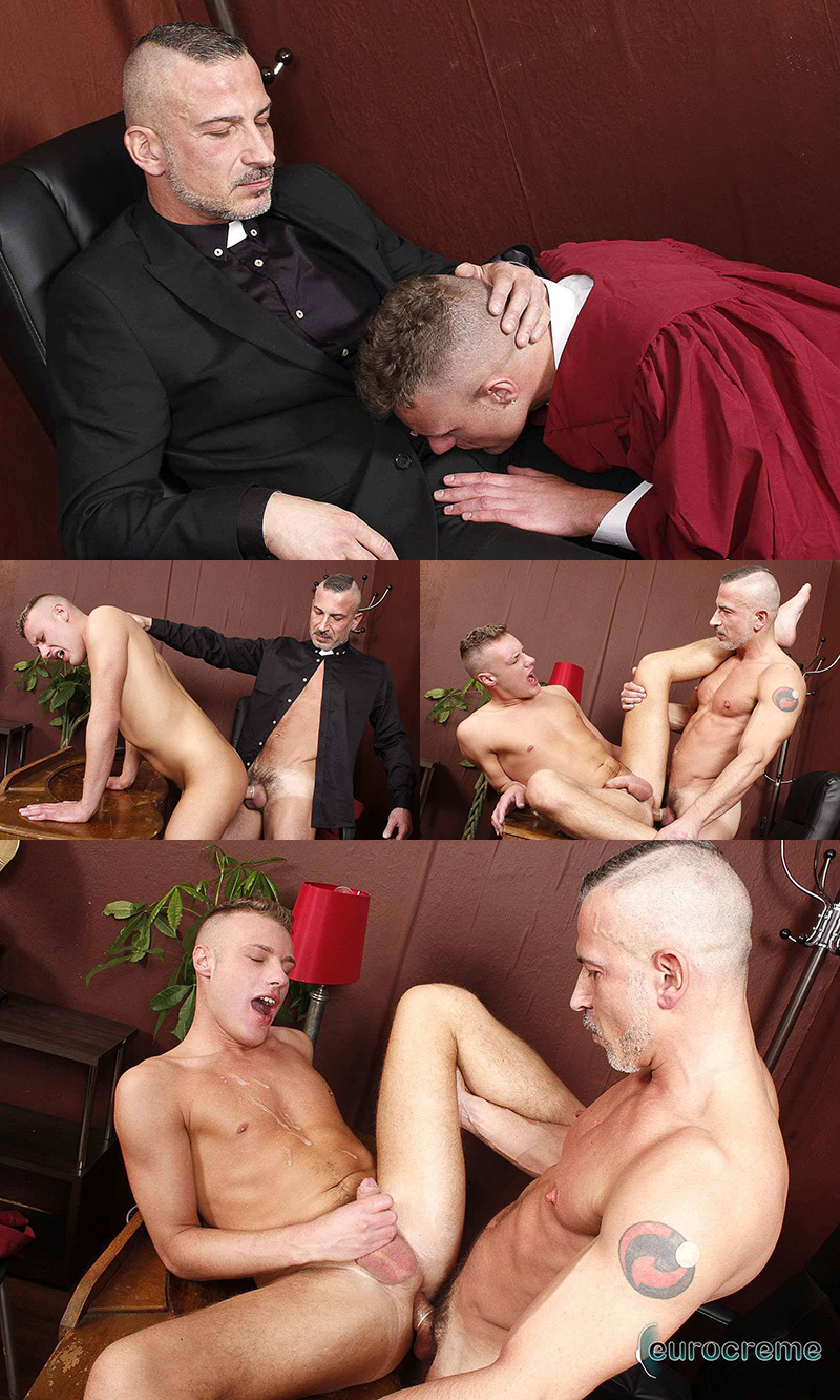 Priest Punishes The Choirboy