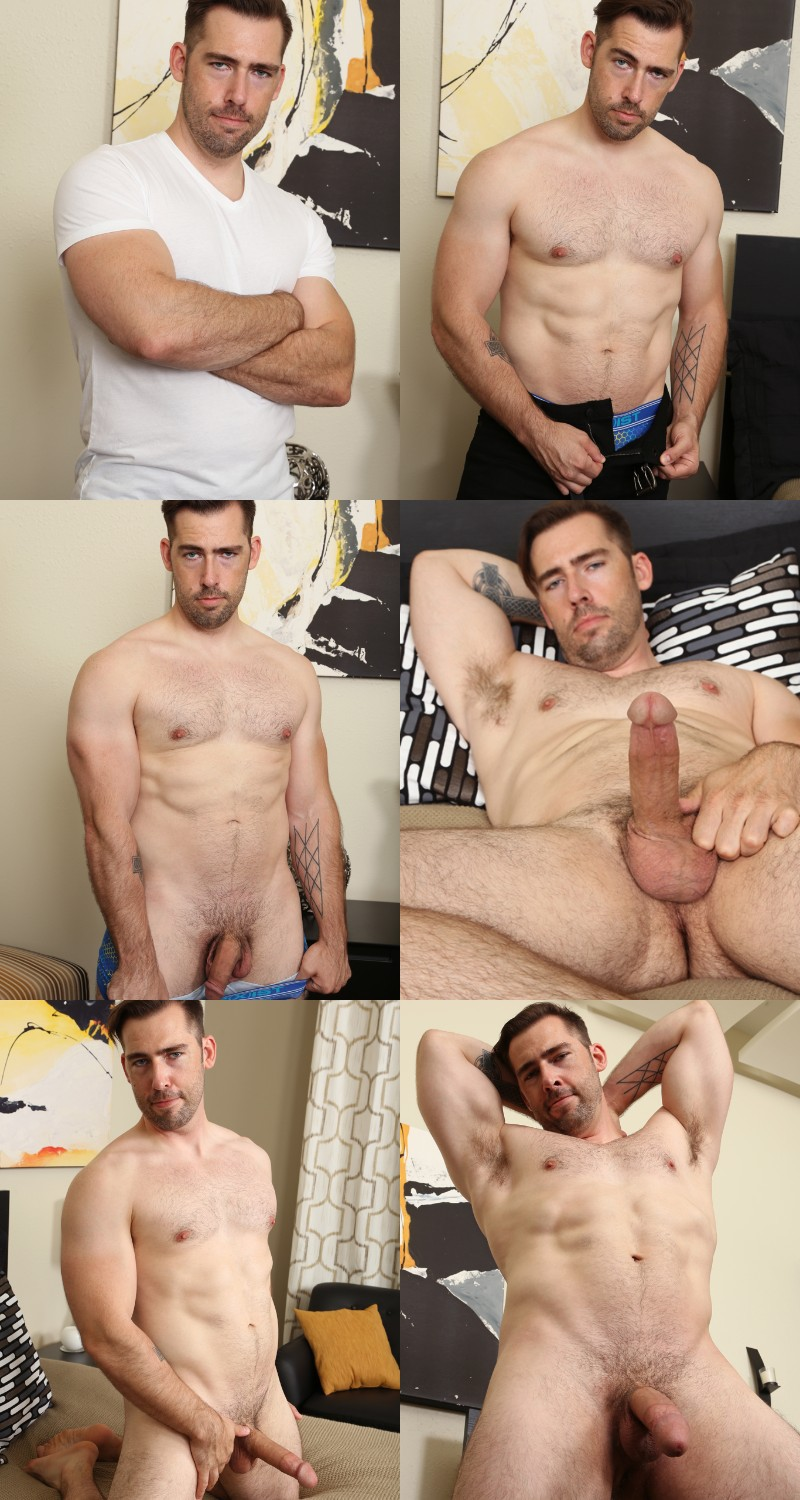 Handsome Bisexual Hunk Kane Haney Gets His Eight-Inch Dick Sucked