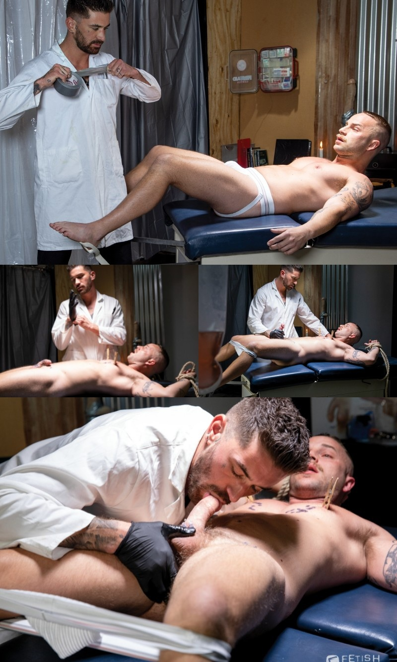 Maniacal Doctor Stretches Patient's Tight Fuck Hole