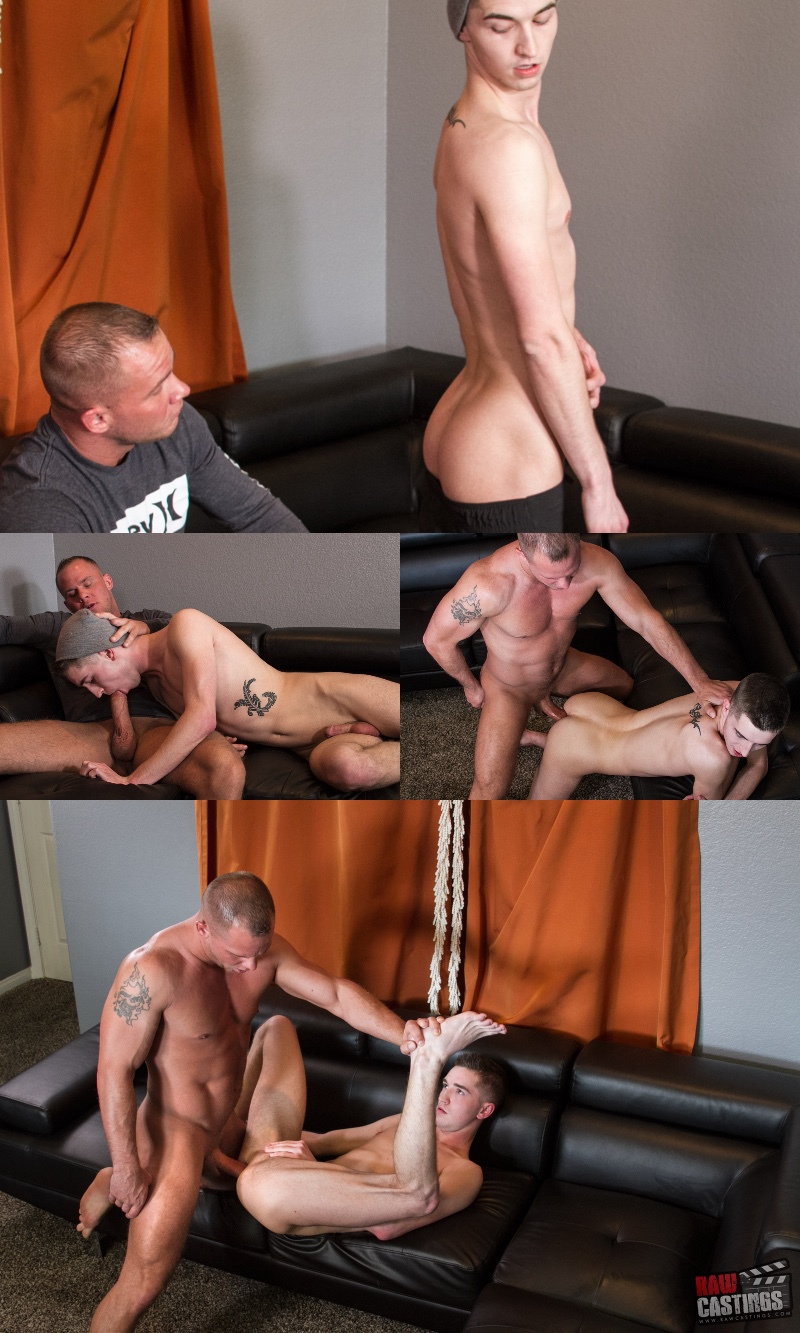 Raw Castings: Trying Micha Coxxx Asshole