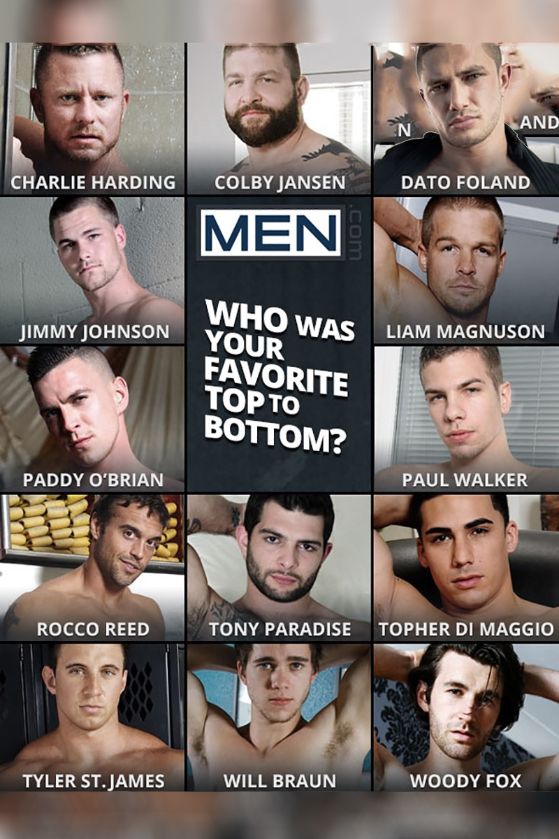 MEN.com, Who Was Your Favourite Top To Bottom?