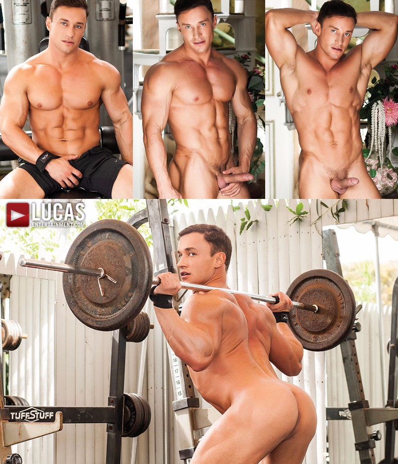 Russian Beefcake Alexander Volkov Debuts at Lucas Entertainment