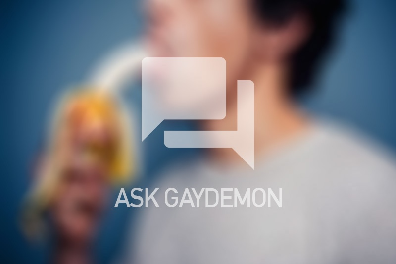Ask GayDemon: Cocksucking Virgin
