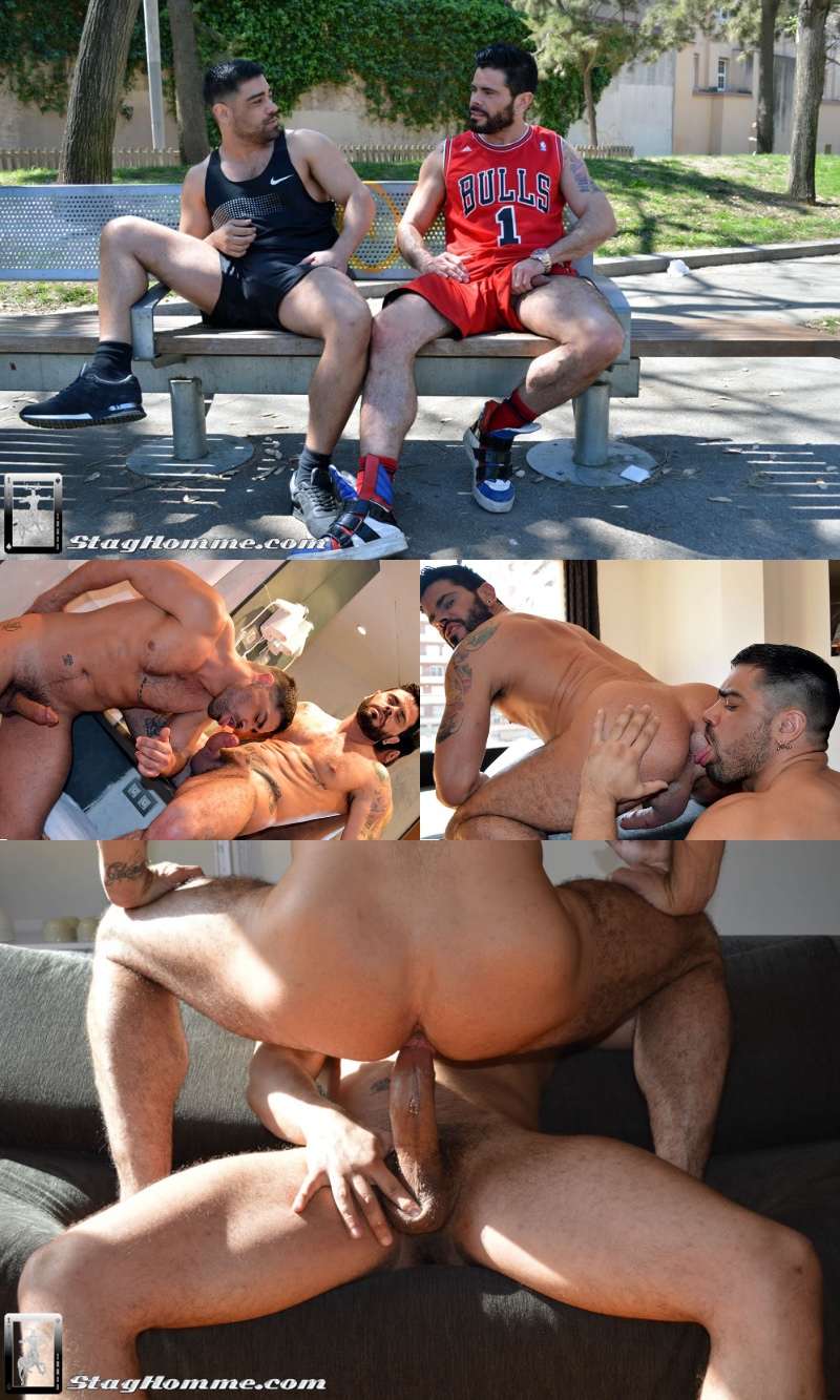 Sweaty Sporty Men Fuck Raw