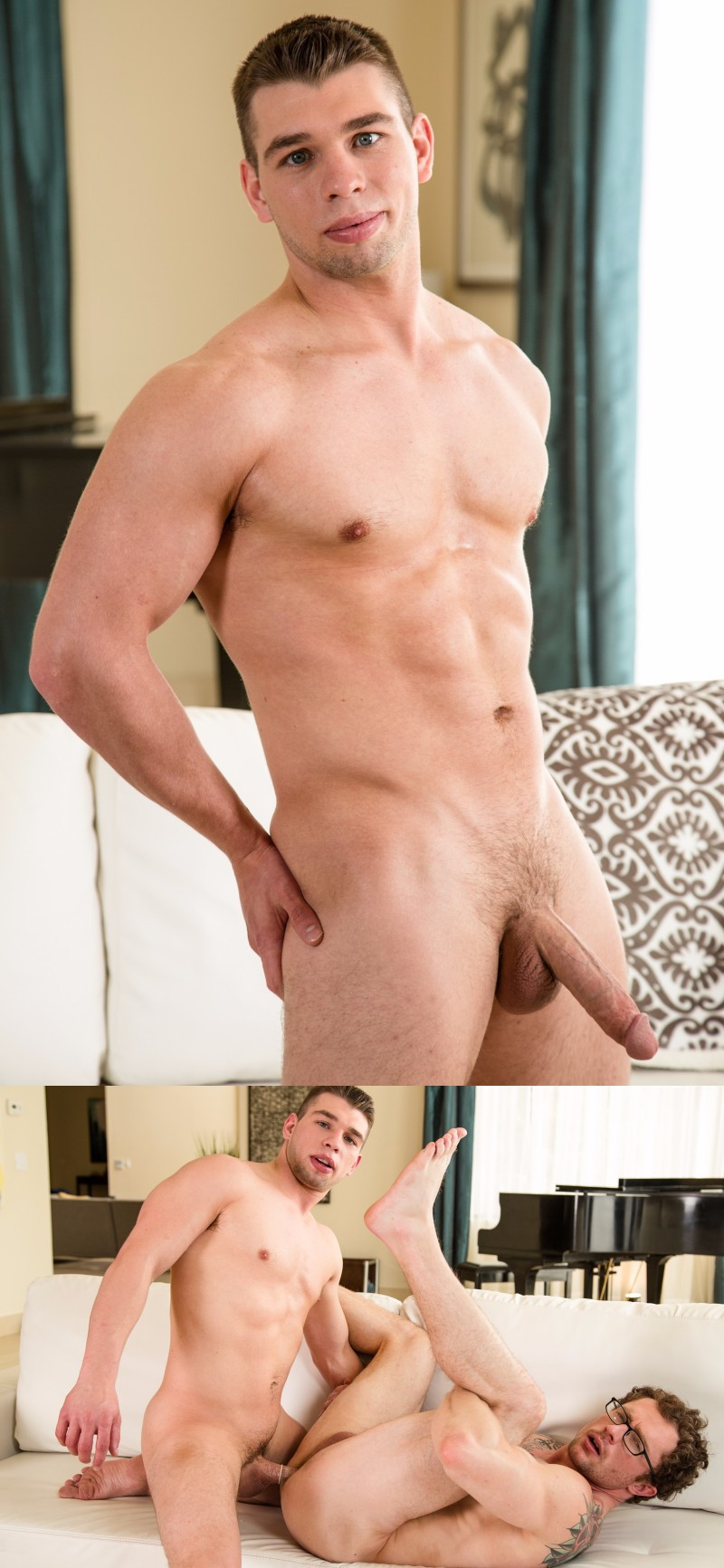 Mike Stone Debuts in First Porno with Dirty Feet