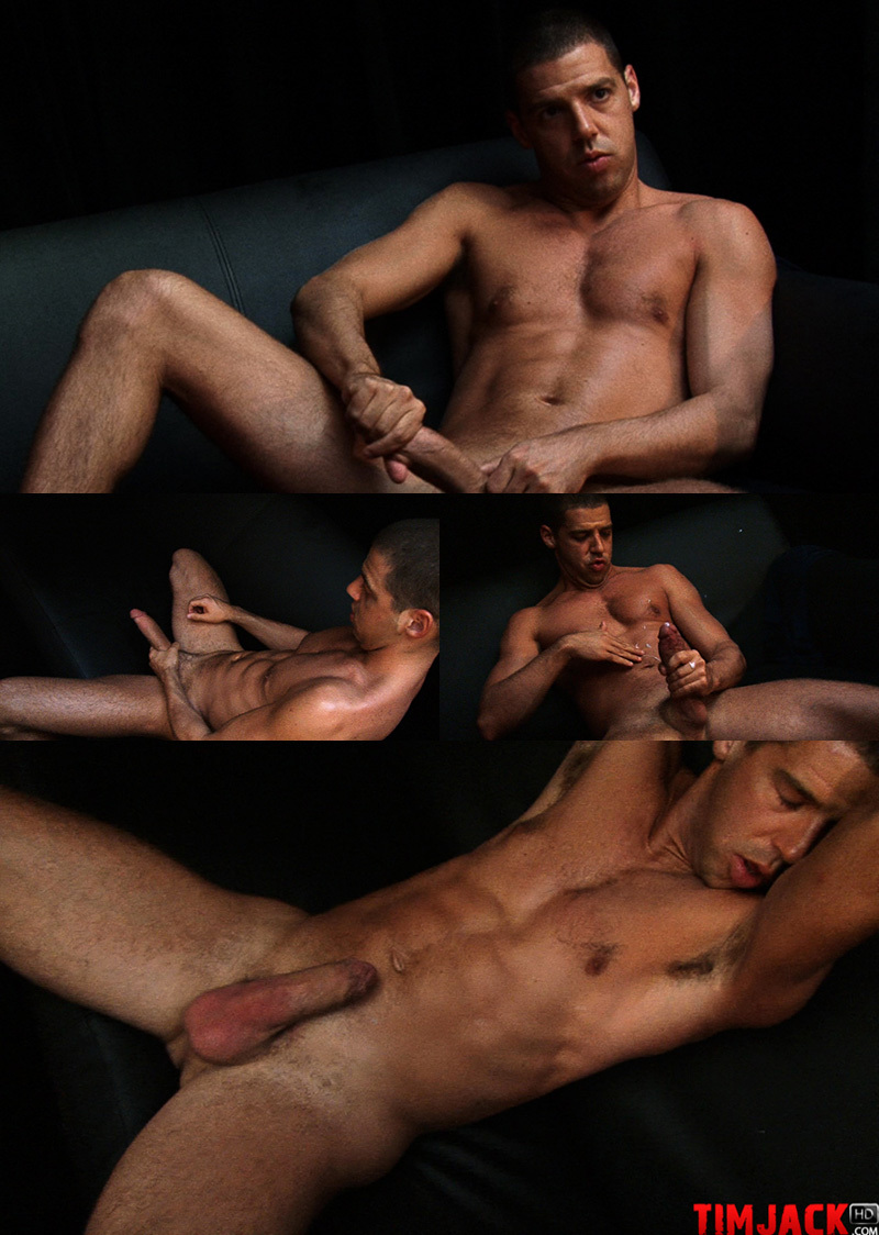 Tommy Deluca Strokes His Dick
