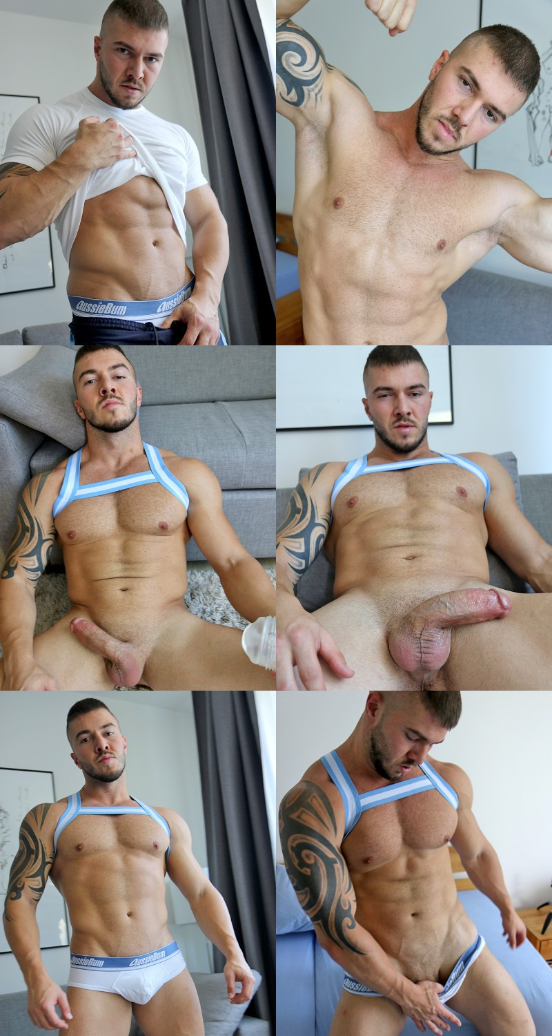 Eastern Euro Muscle Boy Marti Trifon & His Fat Cock