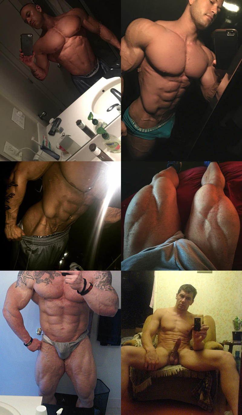 Top #Selfies of the Week: Muscle Magic