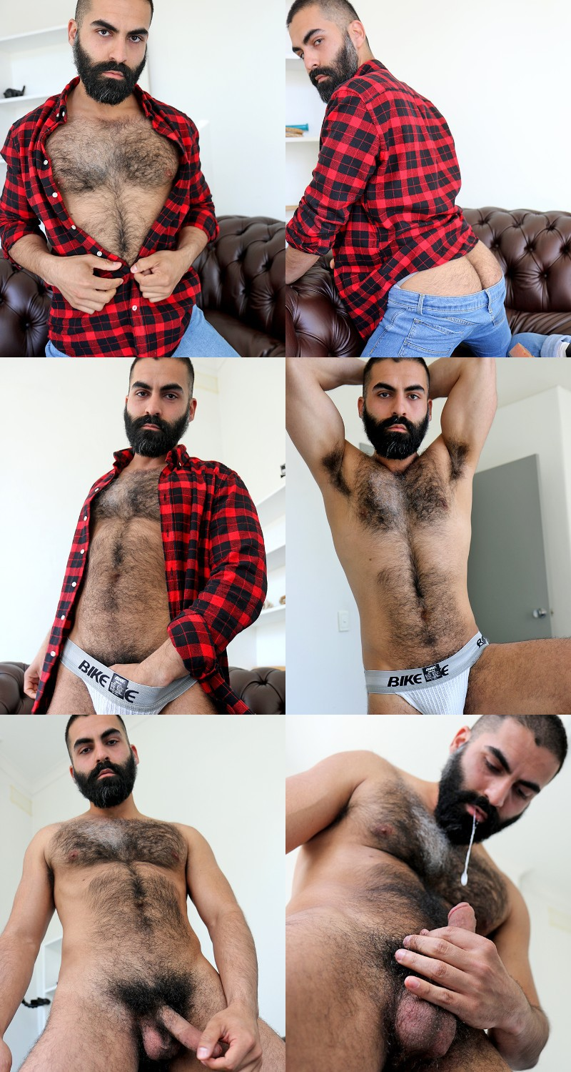 Bastien Passif Is Hairy All Over!