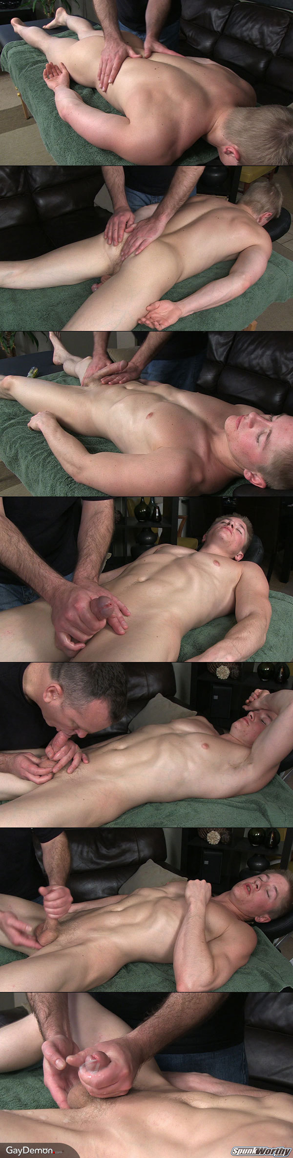 His First Gay Massage