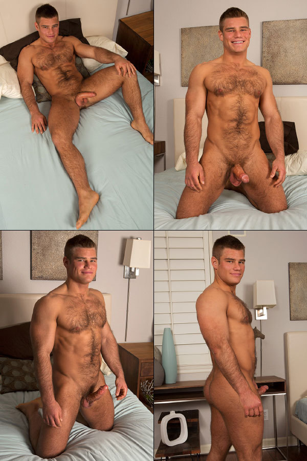 Handsome and Horny Muscle Bear