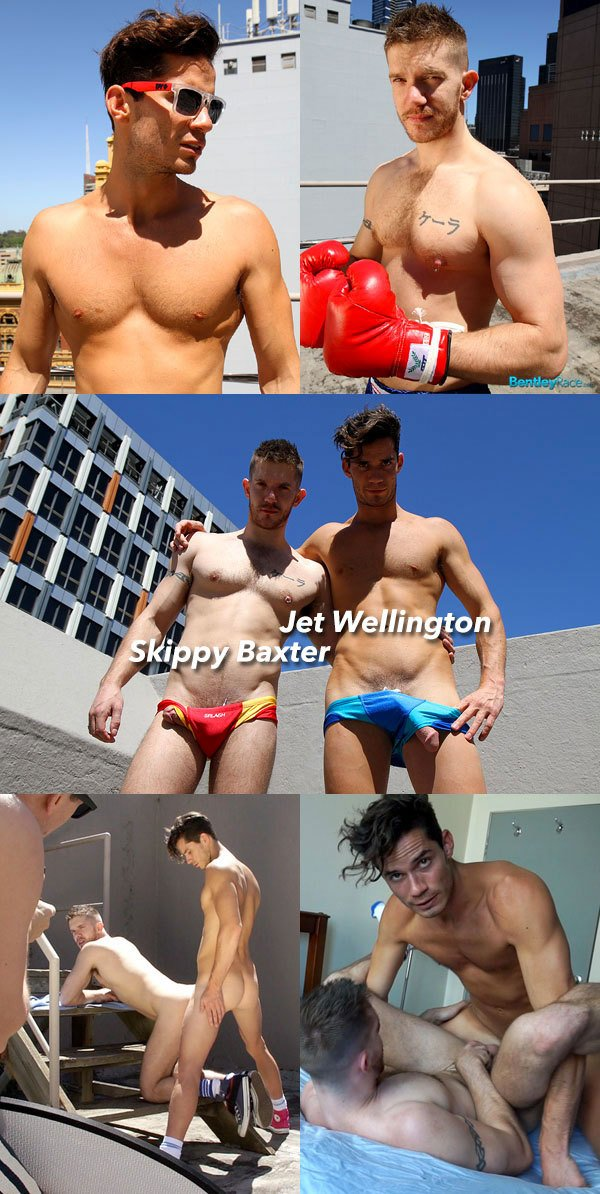 Hot Hung Jet Wellington Fucks Skippy Baxter