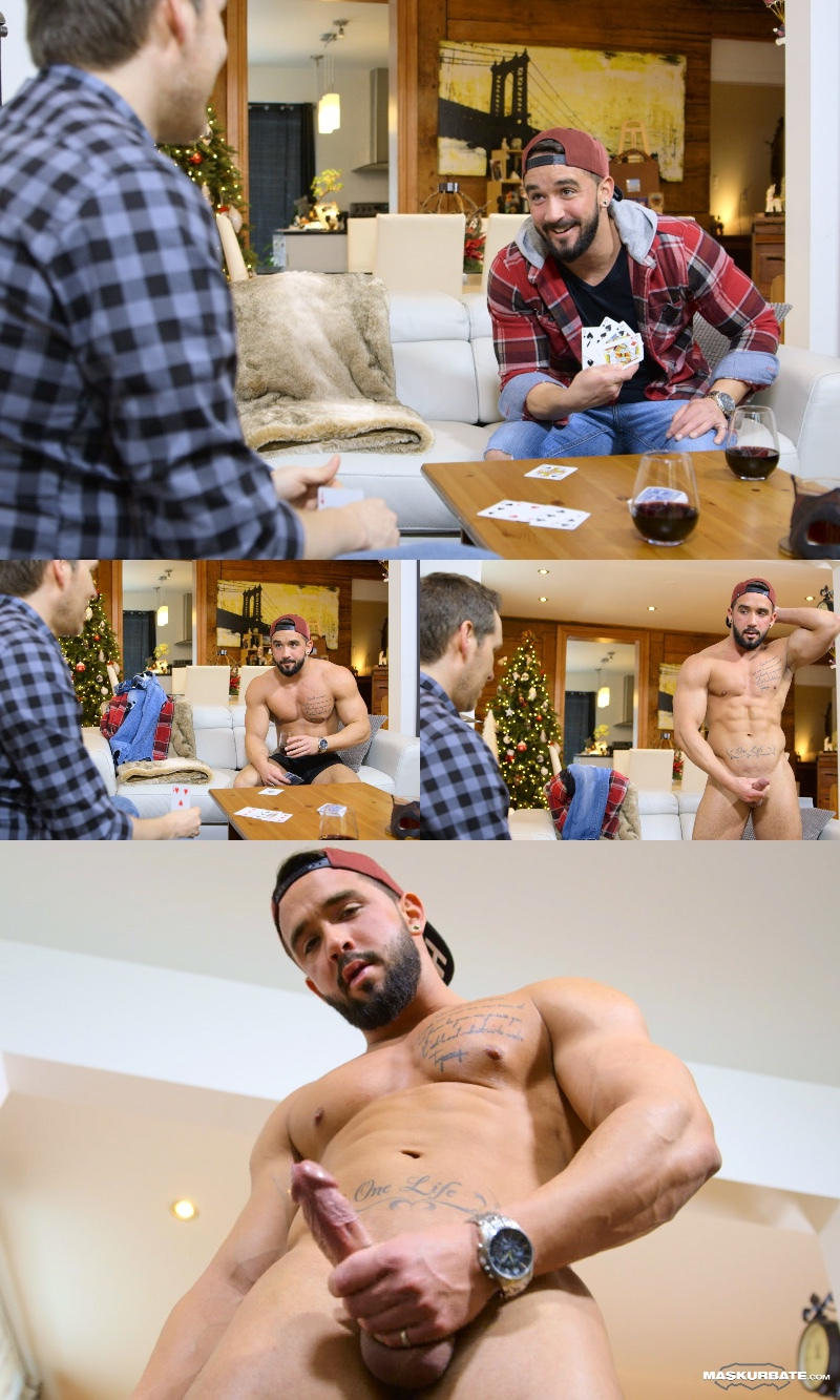 Zack Plays Strip Poker on Maskurbate