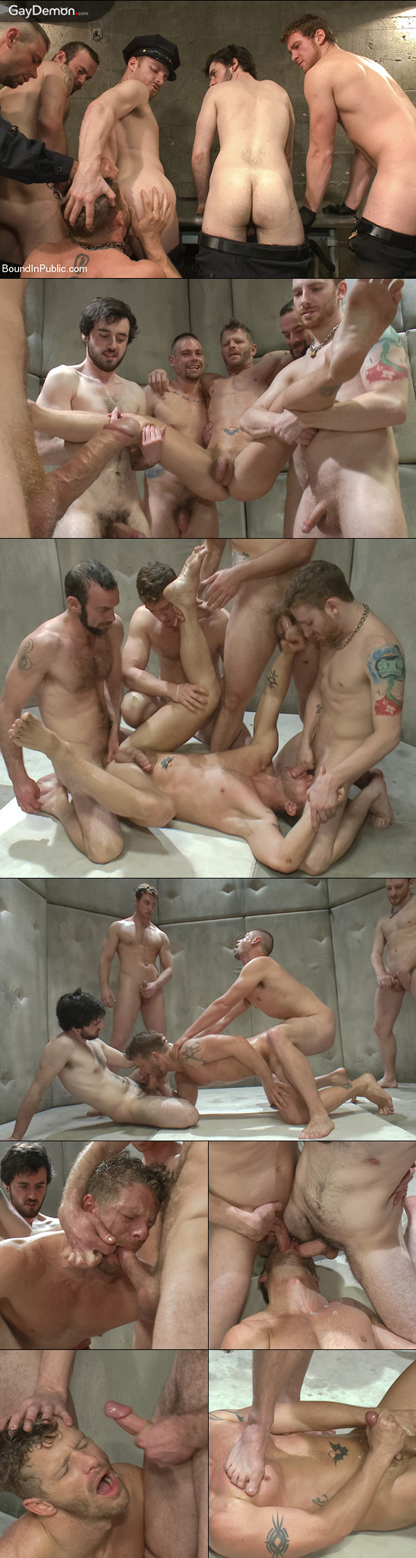 Jail House Gangbang
