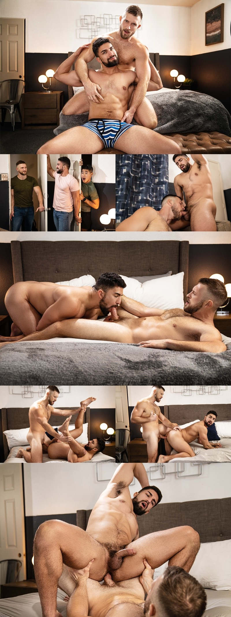 Nasty Roommate Steals His Buddy's Hook-Up