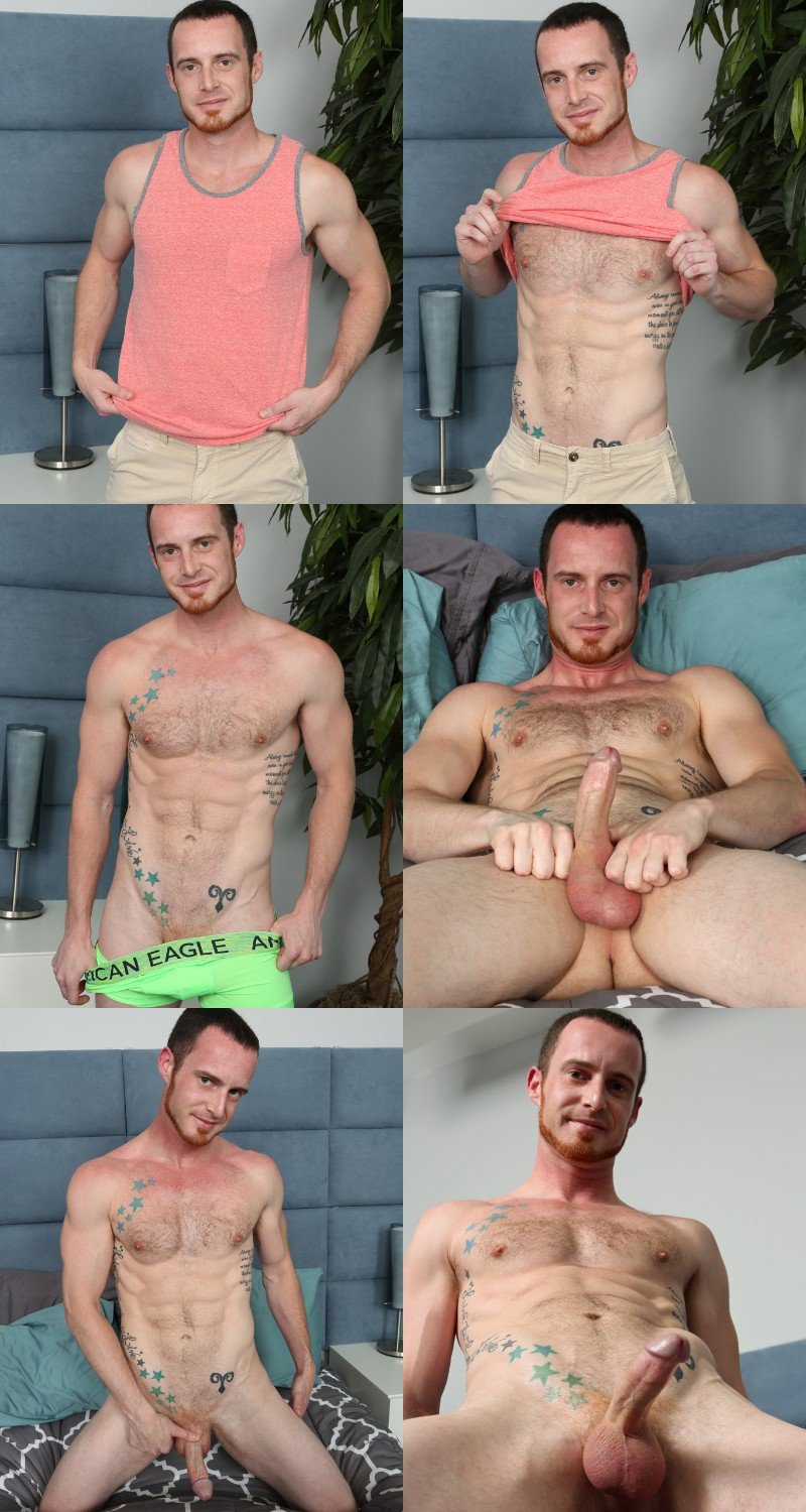Sexy Ginger Stud Aidan Anthony Returns to Pornland