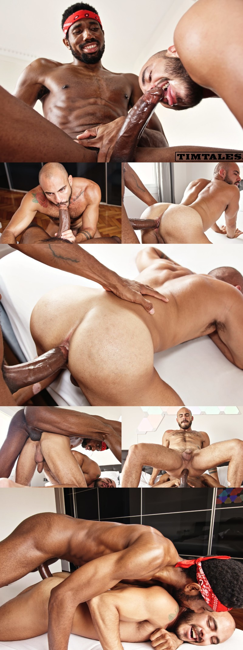 Nigerian Top Sly Buries His 10 Inches in Patrick Dei's Hole