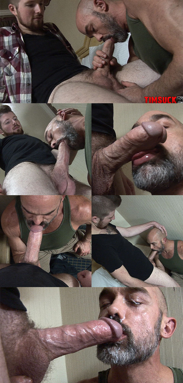 Daddy Gets a Two-Day Load on the Face
