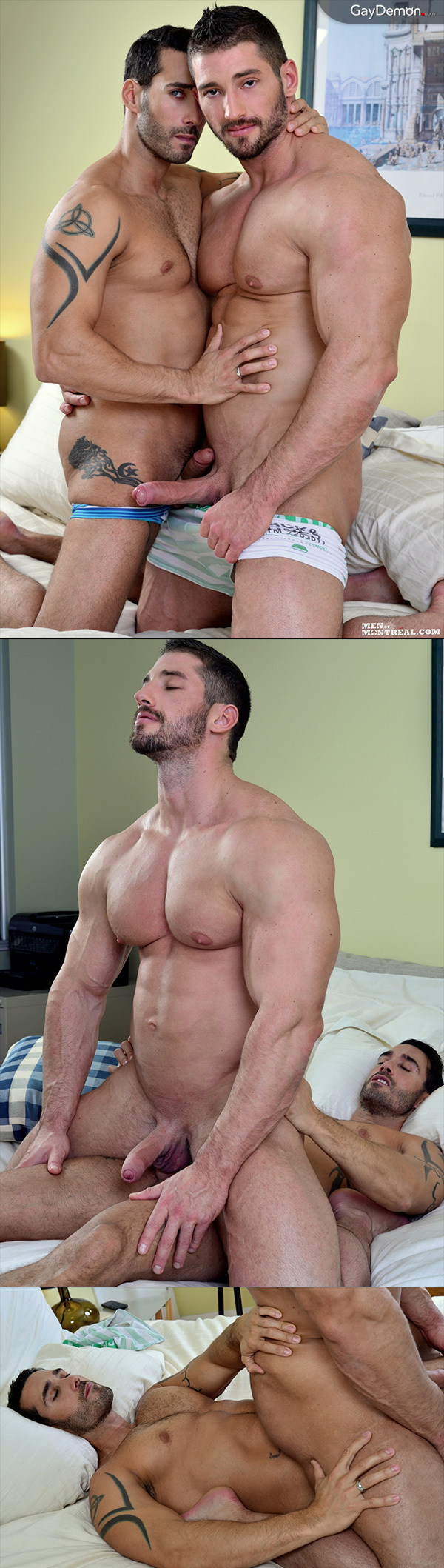 Massive Bodybuilder Exploring Sex with Guys
