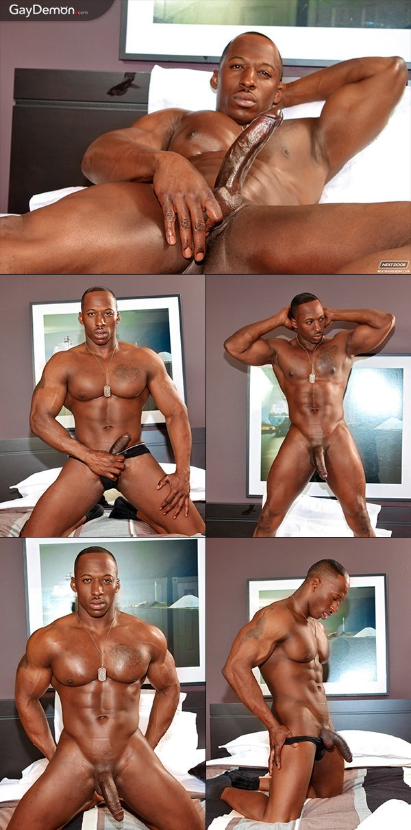 Heavy-Hanging Black Cock