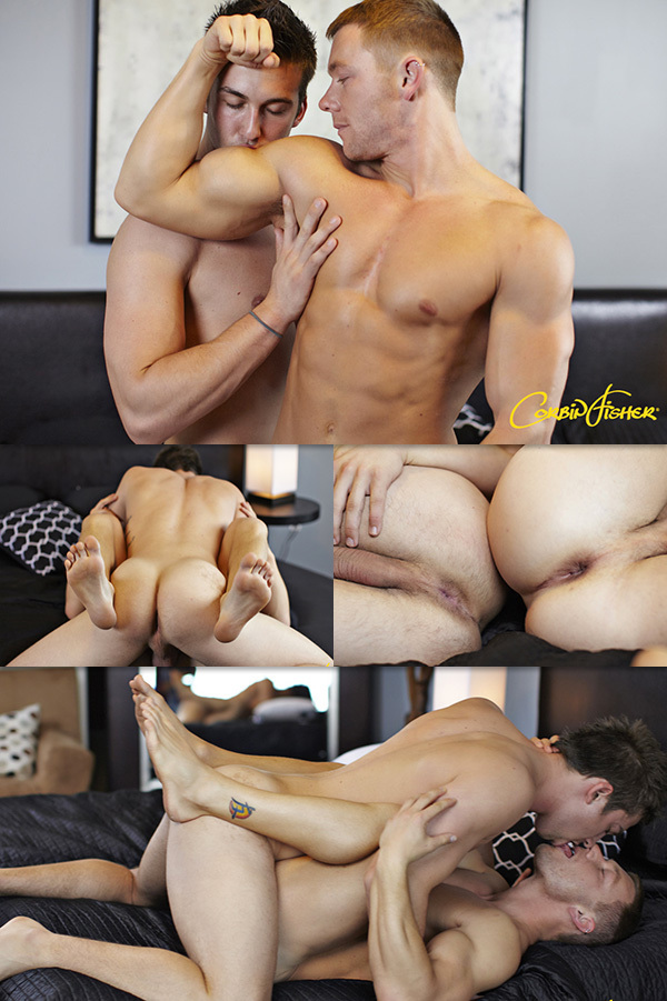 Russ Plays Dirty & Rough at Corbin Fisher