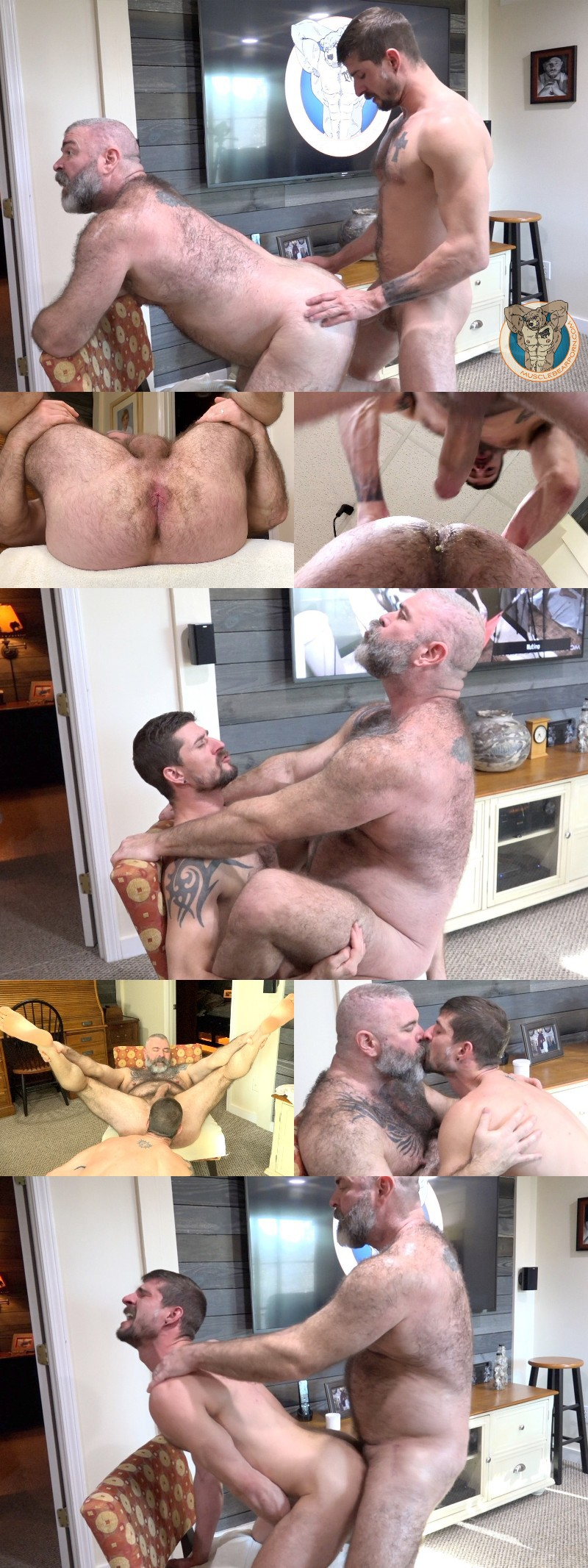 Sean Magyer Fucks His Daddy & Retires from Porn