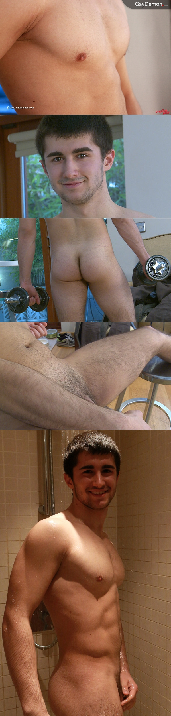 Straight guy's first on-screen jerk off