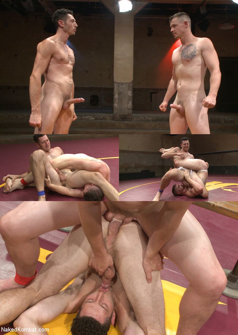 Jed Athens & Logan Stone Wrestling