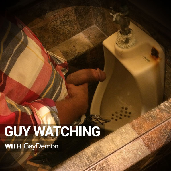 Guy Watching: Naked Toilet Time