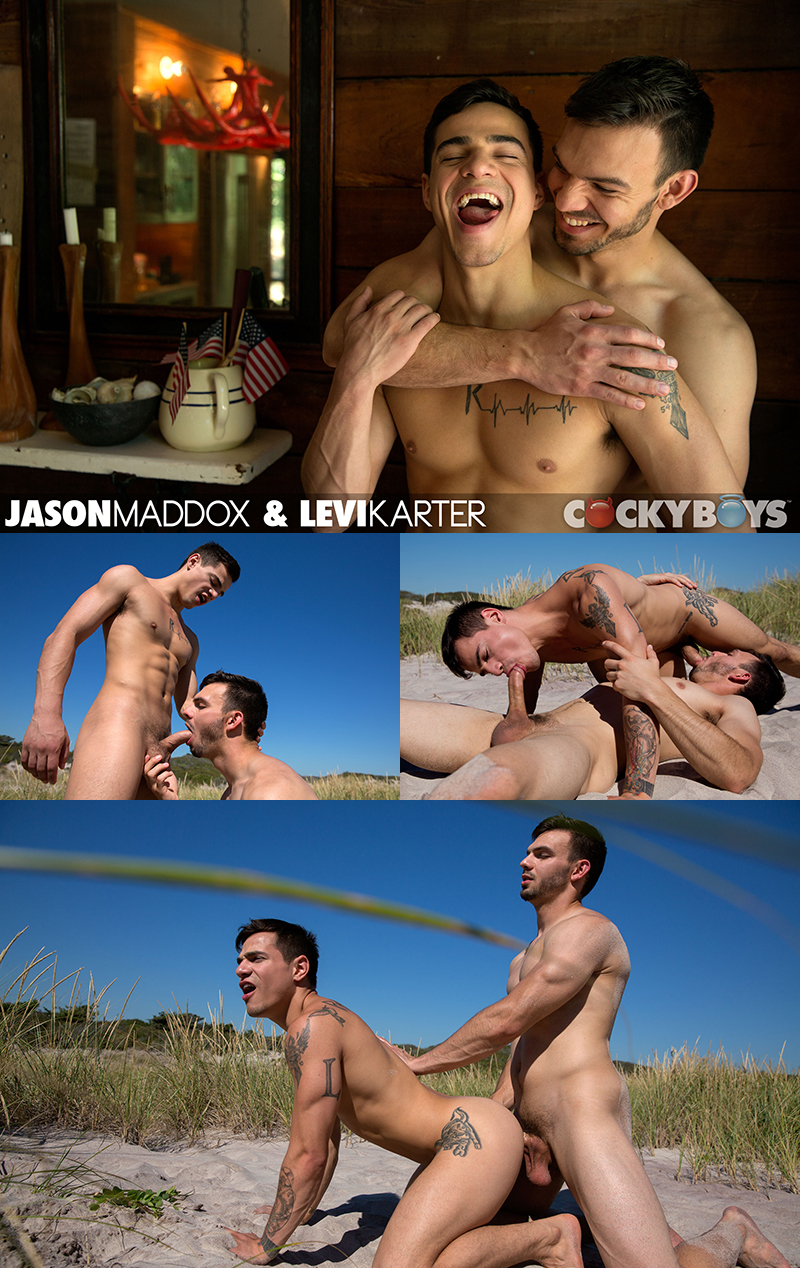 Jason Maddox Fucks Levi Karter Outdoors