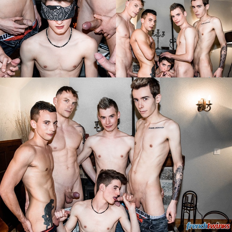 Nolan Lacroix Gets Hazed at French Twinks