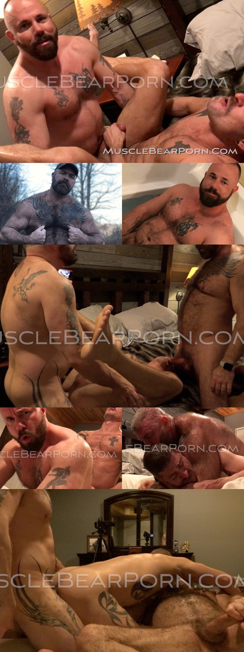 New Site: Muscle Bear Porn