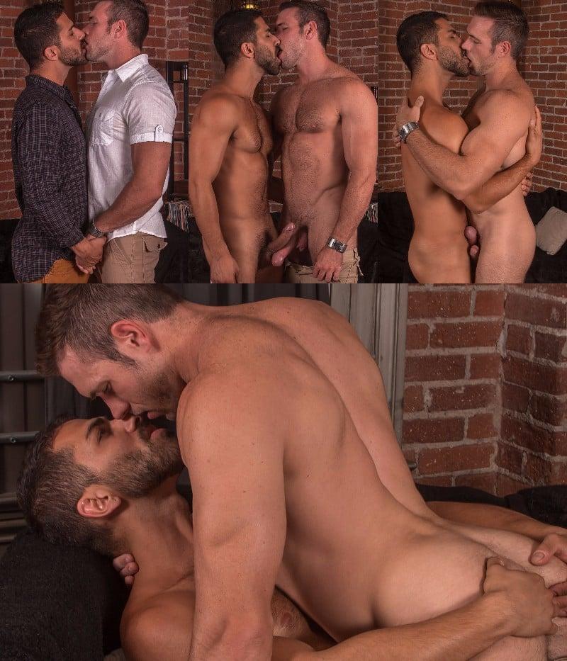 "Alex Mecum & Adam Ramzi in ""2 Men Kiss"""