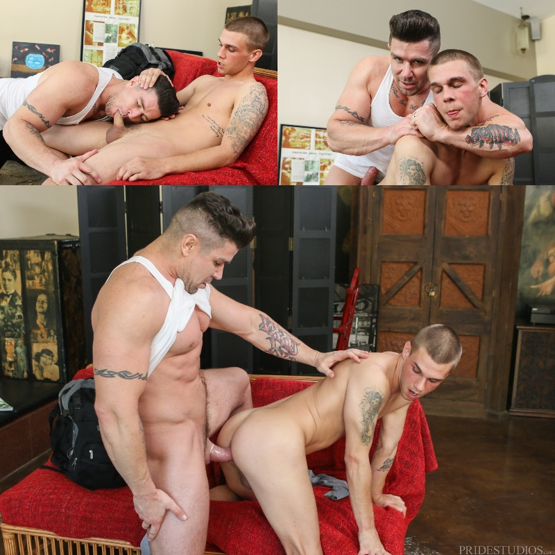 Trenton Ducati & Trent Ferris in 'Busted & Banged'