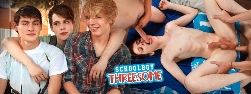 School Boy Threesome