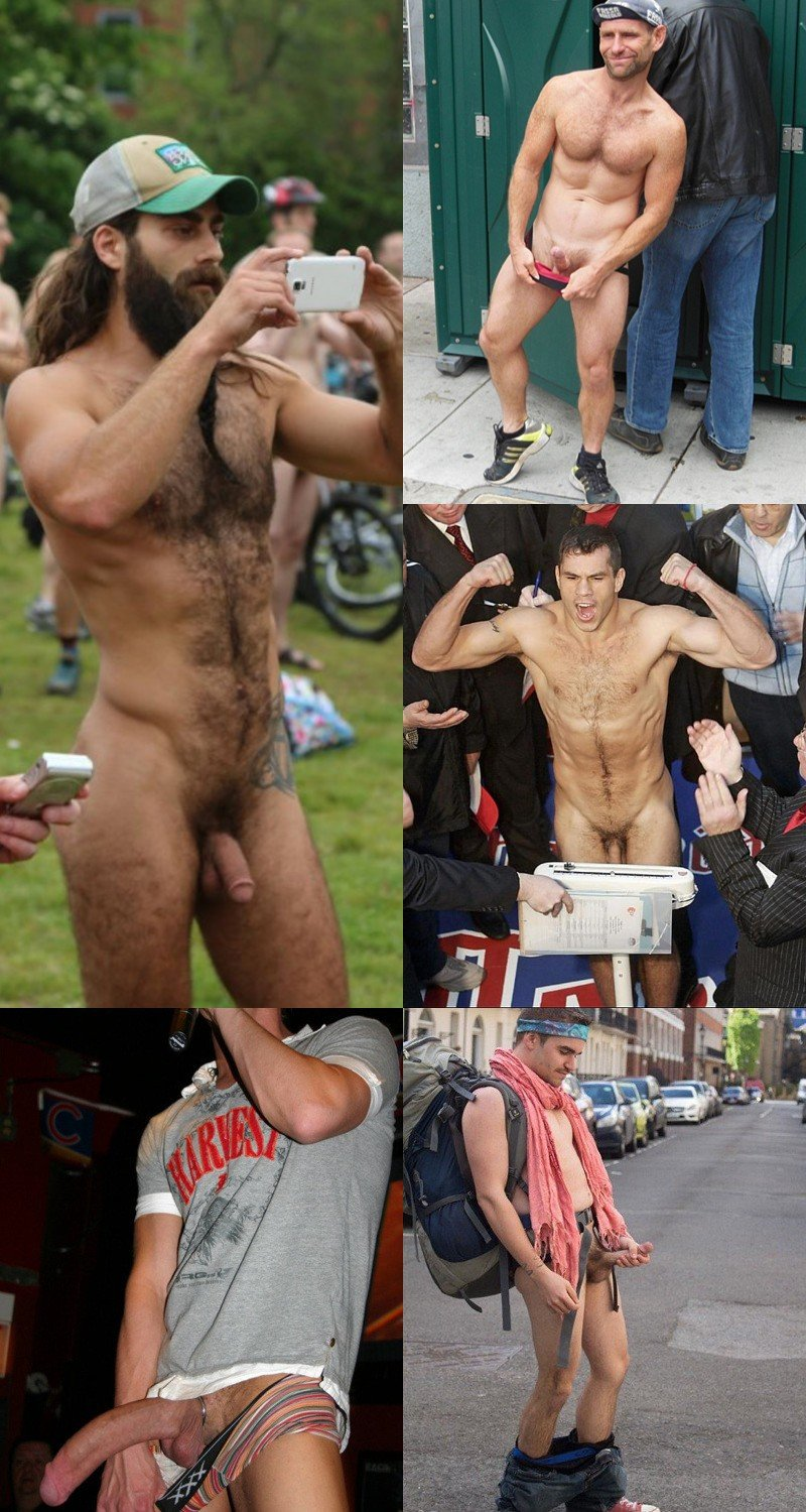 Public Exposure: Naked Guys Do the Darndest Things