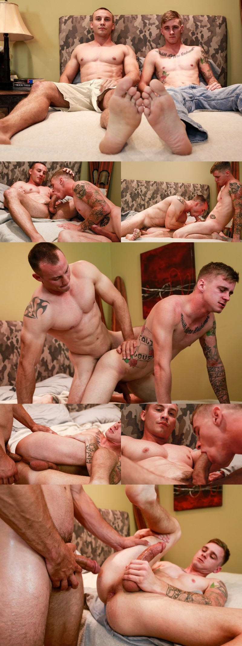 Chiseled Sex Pot Marc Montana Fucks Again on Active Duty