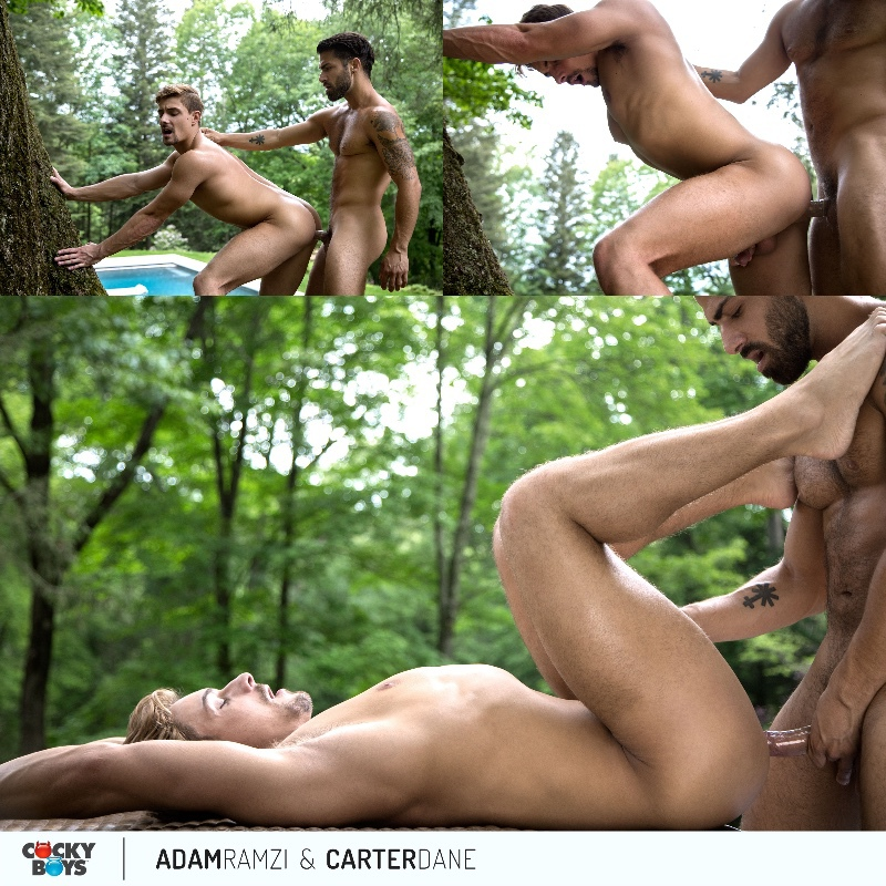 Adam Ramzi Fucks Carter Dane at Cocky Boys