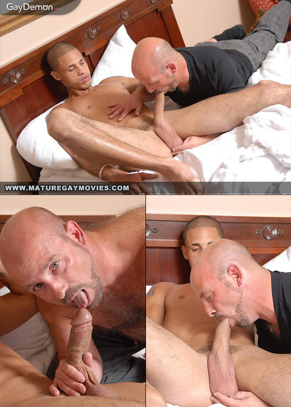 Furry Daddy Fucked by Hung Call Boy